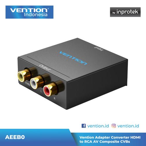 Foto Produk Vention Adapter Converter HDMI to RCA CVBs AV Composite dari Vention Indonesia