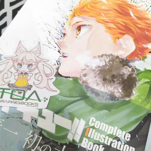 Foto Produk Haikyuu Artbook - Complete Illustration Book Owari to Hajimari dari TOA Graphic Books