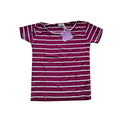 Foto Produk Lumik Maroon Stripe Tee - 3-4 tahun dari Lumik Baby Shop