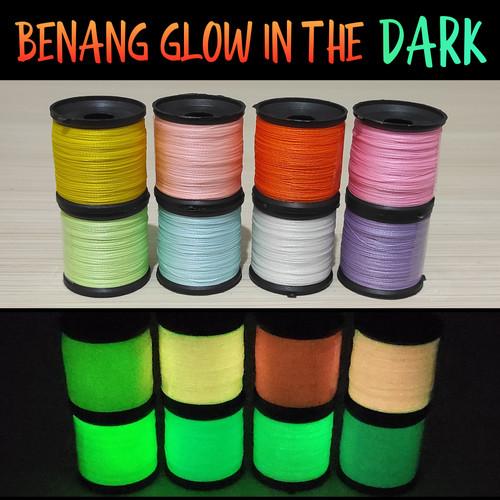 Foto Produk Benang Fosfor Menyala GID Glow in The Dark Thread - Pink dari Timor Gear