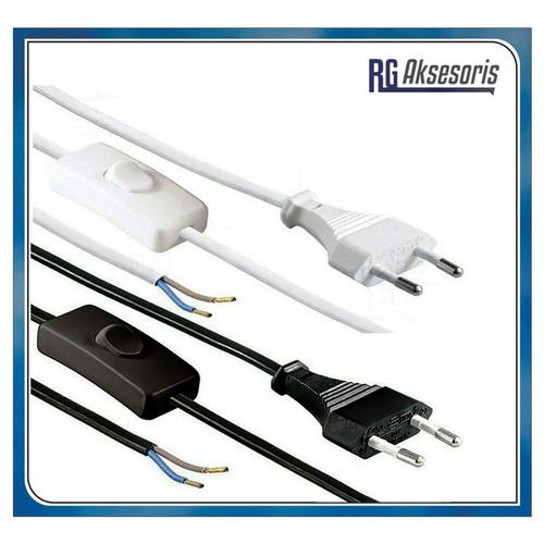 Foto Produk Kabel Saklar On-Off Buntung / Cable Power Colokan Buntung - RANDOM dari RG AKSESORIS HP