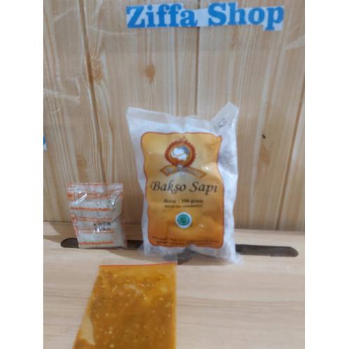 Foto Produk Bakso Sony Kecil 30 Butir + Bumbu Baso Son Haji Lampung Daging Sapi dari Ziffa_Shop