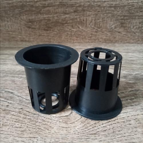 Foto Produk netpot hidroponik 5cm hitam - Hitam dari netpot malang