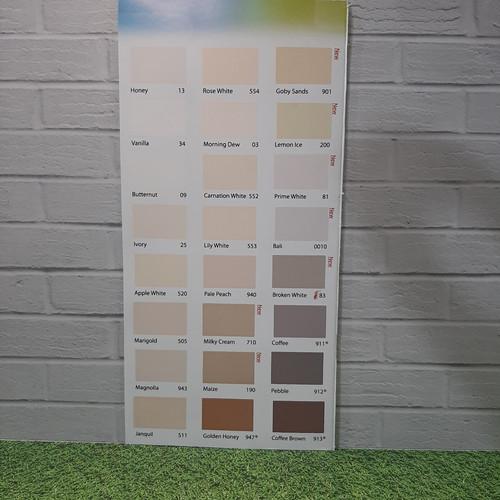 Foto Produk cat tembok kiloan interior kualitas super extra 1Kg dari TK MK JAYA