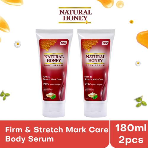 Foto Produk Natural Honey Body Serum Firm and Stretch Mark Care [180 mL / 2 pcs] dari Tempo Store Official