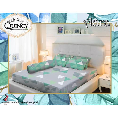 Foto Produk Sprei Tinggi 30cm - AURA - Vallery Quincy - 180x200 (King) dari Warna Warni Sukabumi