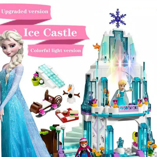 Foto Produk 3003 Lego Disney Frozen Princess Elsa Sparkling Ice Castle Light - 3003 dari Wil Toys