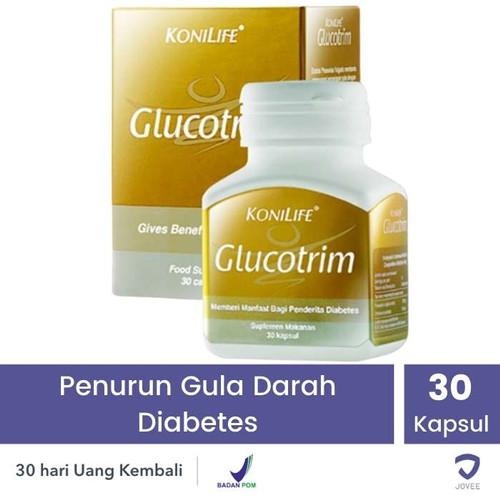 Foto Produk KONILIFE GLUCOTRIM - GULA DARAH DIABETES - 30 KAPLET dari Jovee