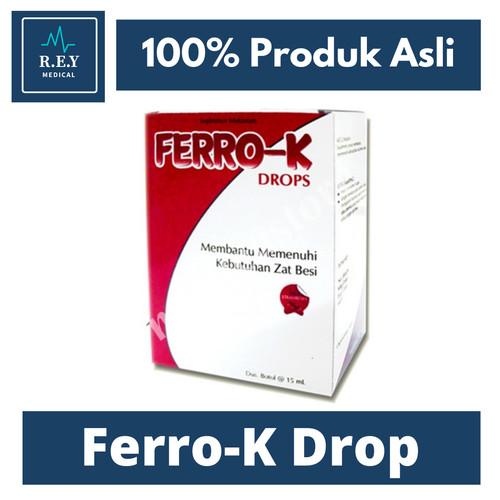 Foto Produk Ferro K Drop 15 ml dari Rey Medical
