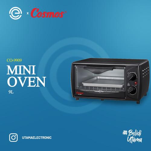 Foto Produk COSMOS Oven Listrik 9 Liter CO-9909 - Hitam dari UTAMA_ELECTRONIC