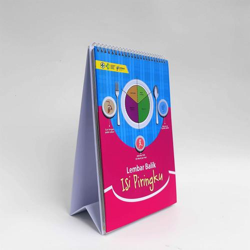 Foto Produk Media Edukasi - Lembar Balik Isi Piringku dari Syafana
