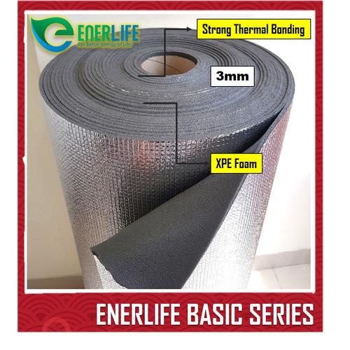 Foto Produk Busa Foam 3mm Peredam Pelapis Suhu Panas & Dingin Harga perMeter B-3M1 dari Energy Life Indonesia