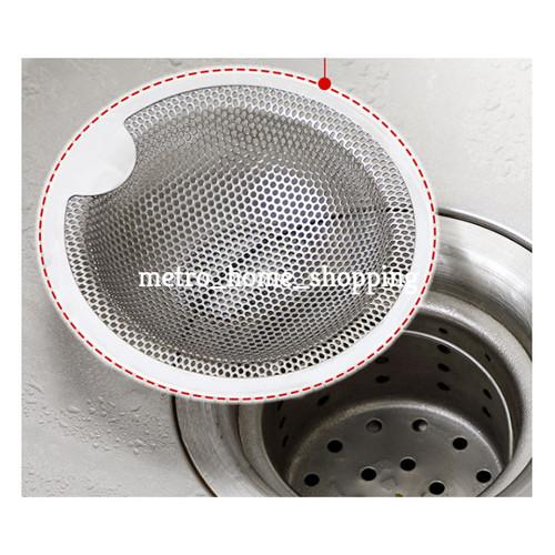 Foto Produk Saringan wastafel stainless steel Saringan bak cuci- MHS106 - small dari Metro_home_shopping