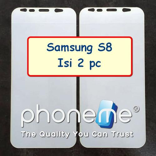 Foto Produk Samsung Galaxy S8 - Isi 2 PhoneMe Anti Gores Full Cover Hydrogel dari PhoneMe Store Indonesia