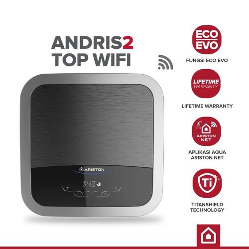 Foto Produk Ariston Andris2 Top Wifi 30 L 500 Watt dari toko sava