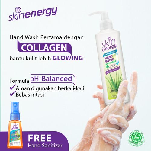 Foto Produk Makarizo SkinEnergy AntiBacterial Hand Wash Aloe Vera 250mL dari Makarizo