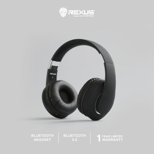 Foto Produk Rexus Headset Bluetooth M1 - Hitam dari Rexus Official Store