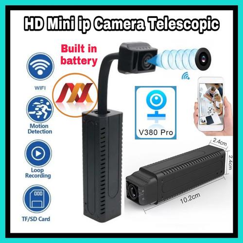 Foto Produk Spy Camera Telescopic Wifi Built in Battery - Mini Hd ip Cam T1 - TANPA MEMORY dari Navy Acc
