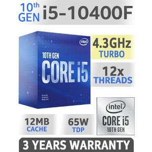 Foto Produk Prosesor Intel Core i5 10400F Gen 10 dari King Shoppp
