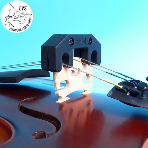 Foto Produk Mute Sisir Solid Metal-Karet - Artino - Violin/Biola dari Eleonora Violin Shop