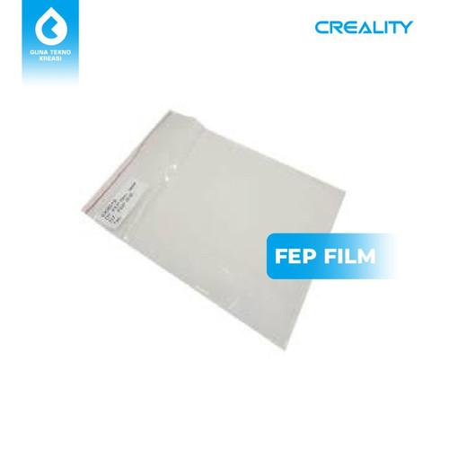Foto Produk FEP Film untuk Resin 3D Printer 14x20cm - Tebal 0.15 mm - 0.15 dari Gunatek JKT Cempaka Mas