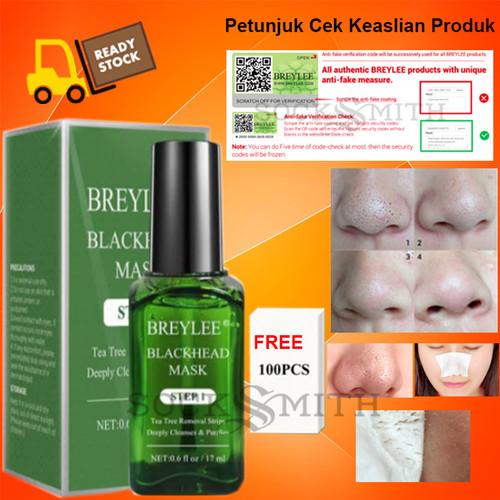 Foto Produk Breylee BLACKHEAD MASK STEP 1 17 mL 100% Original ! - Breylee Step 1 dari SockSmith