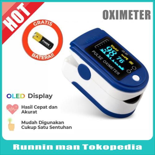 Foto Produk fingertip pulse oximeter oxymeter spo2 dari Runnin man