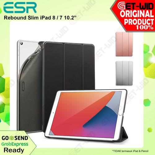 Foto Produk Case iPad 8 / 7 10.2 Inch ESR Rebound Slim Soft Casing - Hitam dari GET-WID Official
