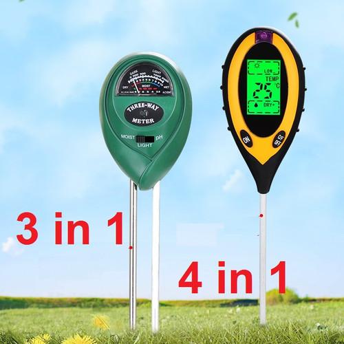 Foto Produk Digital Soil Analyzer Tester Meter Alat Ukur pH Tanah 4 in 1 SPH004 - 3 in 1 dari Rumix