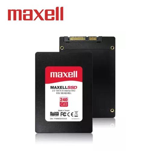Foto Produk SSD MAXELL 240GB SATA III Read : Up To 500 MB/s dari BCM Computer