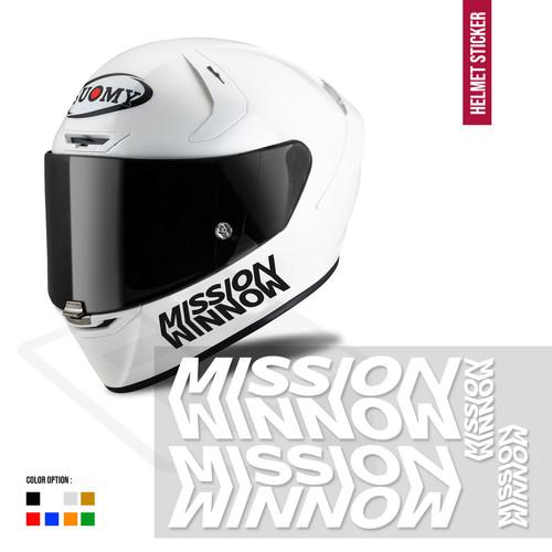 Foto Produk Sticker Mission Winnow Set Body Helm kyt shoei arai shark kbc ink zeus dari Fuel