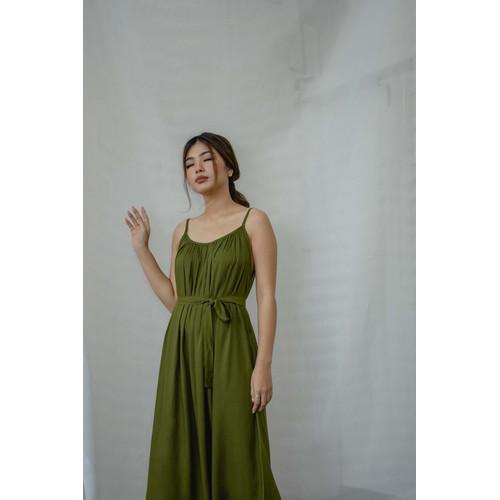 Foto Produk Morningsol Gaby Dress In Army dari morningsol