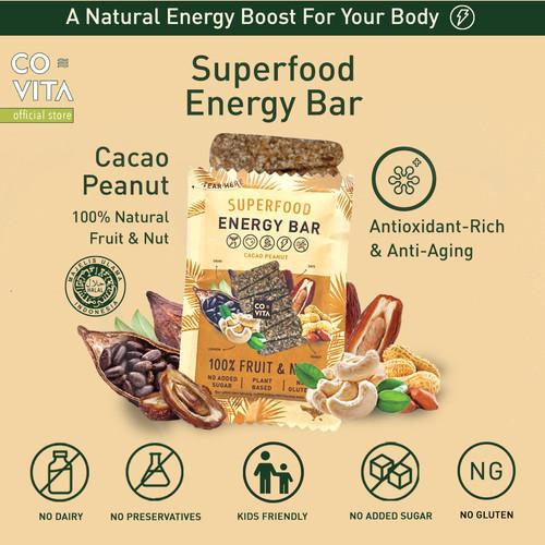 Foto Produk Covita Superfood Energy Bar - Cacao Peanut dari Covita