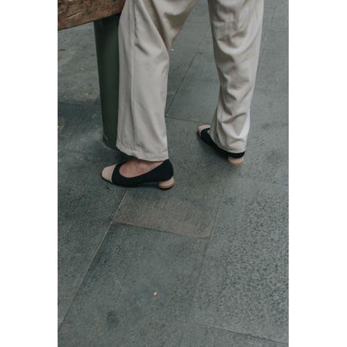 Foto Produk Nakedsol Jill Pumpshoes - Sepatu Hak Wanita - BLACK OAT, 39 dari Nakedsol