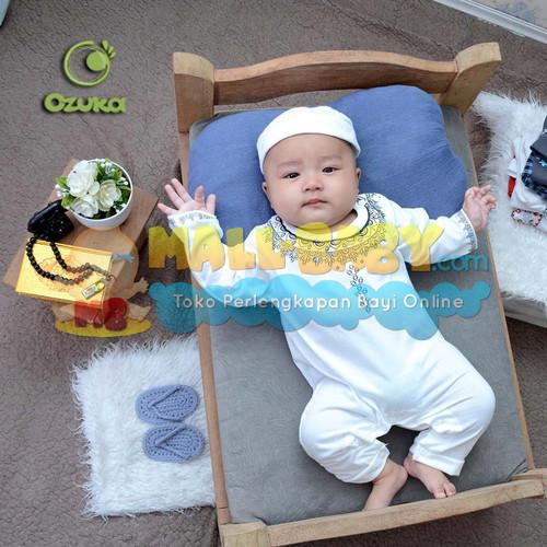 Foto Produk Baju Koko Bayi Jumper Romper Jumpsuit Koko Bayi Sablon Panjang Ozuka dari Mall-Baby