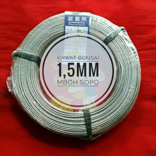 Foto Produk Kawat Bonsai 1 Rol- ukuran1,5mm dari Mboh Sopo