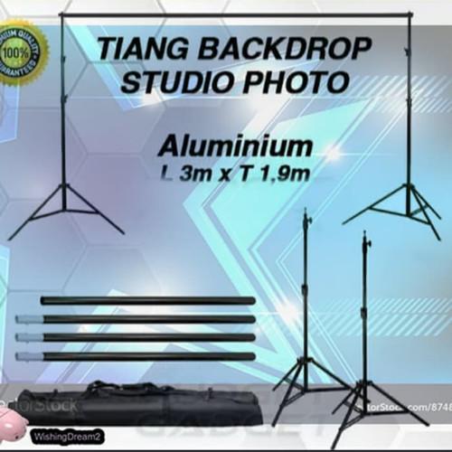 Foto Produk stand background 3 meter dari master camera2