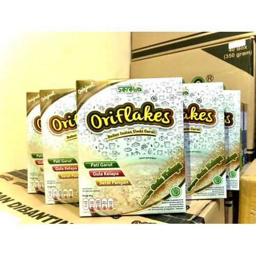 Foto Produk Oriflakes sereal umbi garut Low IG Original 350 grm - with palm sugar dari oriflakesjogja