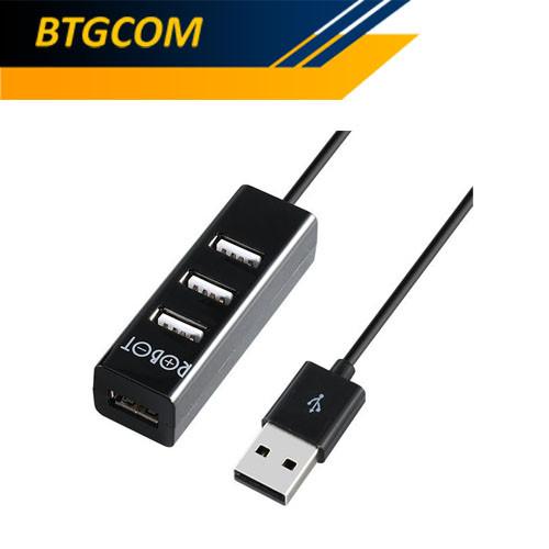 Foto Produk Robot H140-80 4 Port USB HUB 2.0 With 80cm Cable Length / H14080 dari BTGCOM