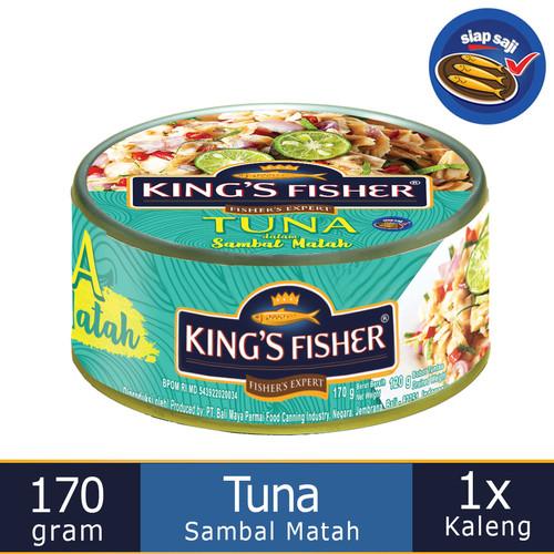 Foto Produk King's Fisher Tuna Sambal Matah Daging Tuna Makanan Kaleng 170 g dari Kings Fisher