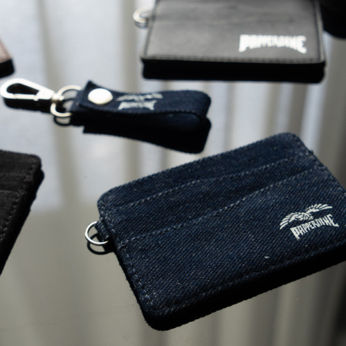 Foto Produk Papperdine Jeans Cardholder Keychain Lanyard Set - Blue Denim dari Papperdine Jeans