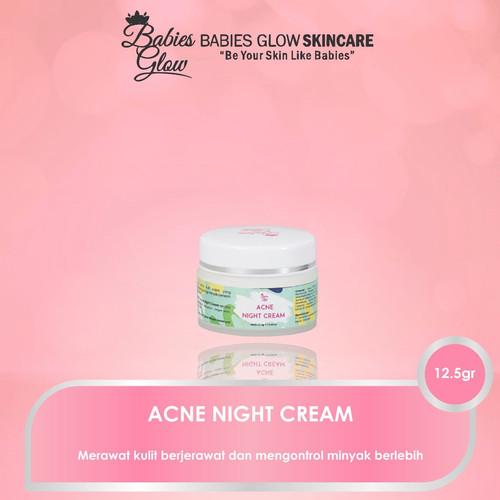 Foto Produk Acne Night Cream dari BabiesGlowAesthetic