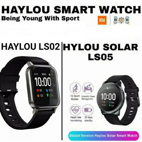 Foto Produk HAYLOU LS02 / HAYLOU SOLAR LS05 SMART WATCH - HAYLOU SMARTWATCH - LS05 HITAM dari b2b mobile
