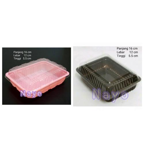Foto Produk Mika brownies S/ Kotak brownies/ Bento box/ Mika bento/ Kotak makan dari NAYO Topgrosir