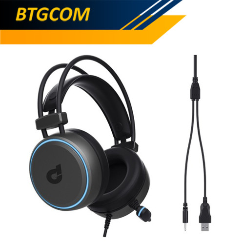 Foto Produk DBE GM160 Multiplatform 3.5mm Gaming Headset dari BTGCOM