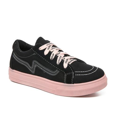 Foto Produk PVN Sepatu Sneakers Wanita Sport Shoes 113 - black pink, 41 dari PVN Official Store