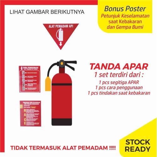 Foto Produk Jual Sign Tanda APAR (Alat Pemadam Api Ringan) dari Syafana