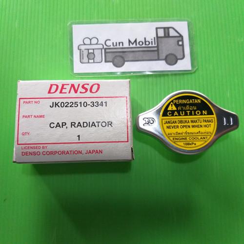 Foto Produk Cap tutup radiator Denso 1.1 jpg. Vios. Rush Terios. Pajero. Fortuner dari Cun Mobil