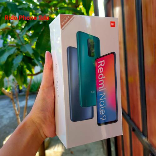Foto Produk Xiaomi redmi note 9 ram 6 rom 128gb garansi resmi dari Ridophone