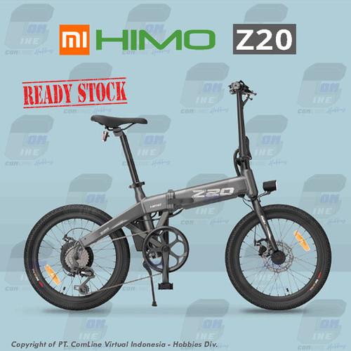 Foto Produk COMLINE-Sepeda Listrik Lipat XIAOMI HIMO Z20 - Abu-abu dari ComLine Hobbies